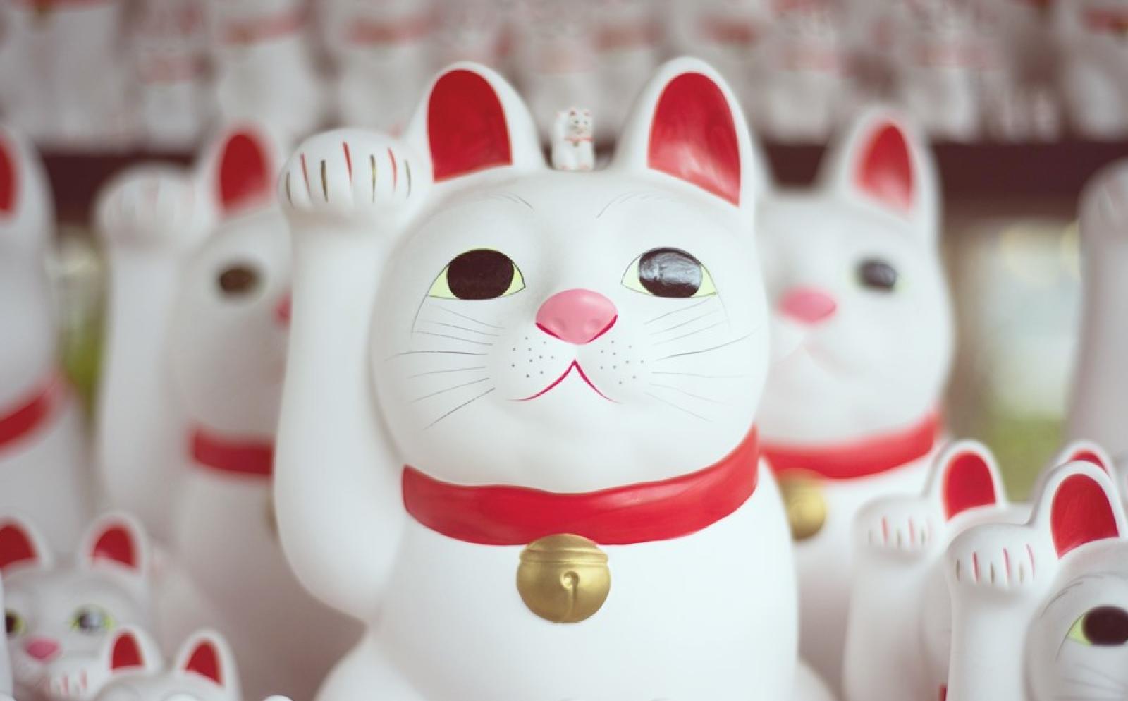 日本の招き猫